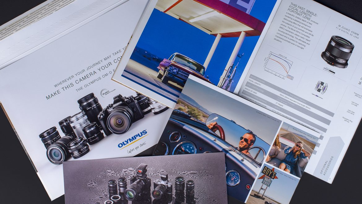 Boost your image with Grafika's printed brochures