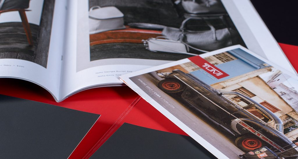 Commercial printing shown for photography