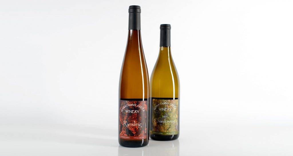 Pressure sensitive labels for wine