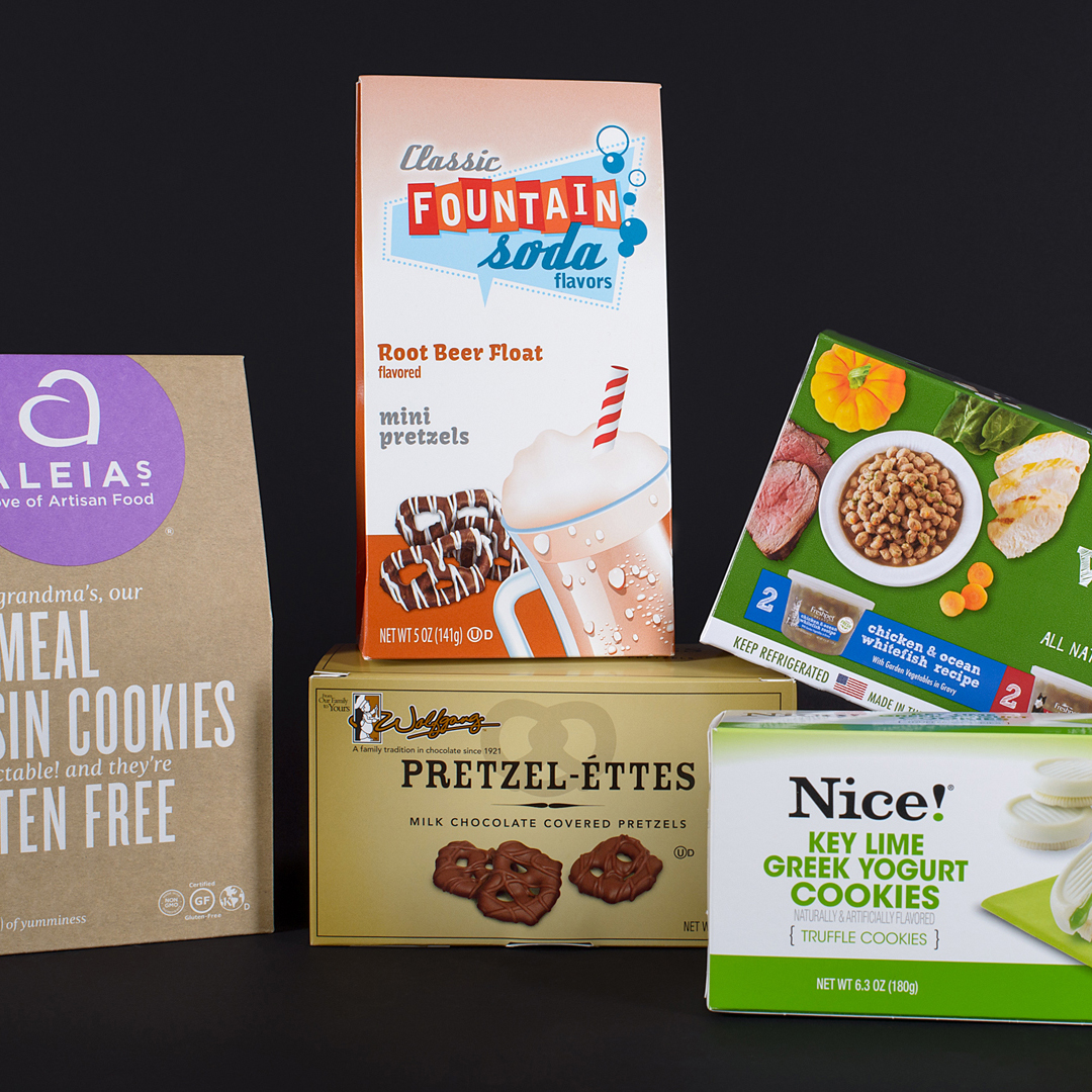 We offer creative paperboard packaging solutions to meet the needs of any retail, medical, consumer or grocery application.