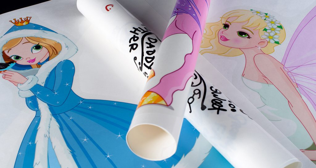 Decals shown for princesses